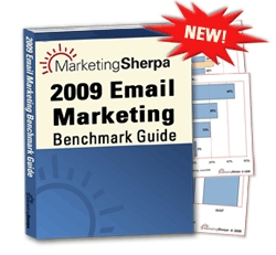 Record Sales for Benchmark Guide for Email Marketers