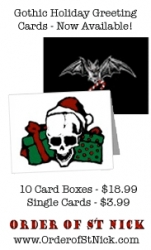 "Greeting Card Company Expands ""Evil Christmas Cards"" Line for 2008 Holiday Season"