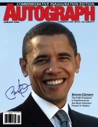 Autograph Magazine Inauguration Issue Celebrates Obama's Signature