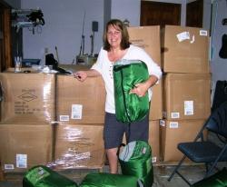 HelpKeepWarm.org Schedules Sleeping Bag Distribution to the Homeless