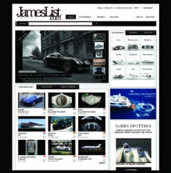 JamesList.com Launches Global Luxury Marketplace in Midst of Financial Turmoil