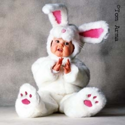 Bunny in a Bear Market. Tom Arma Costumes Are a Great Investment.