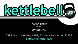 Kettlebell Elite Fitness Studio Grand Opening 18 April 2009