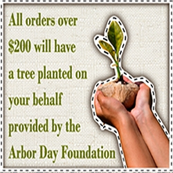 Factory Direct Drapes™, a Custom Drapery and Curtain Manufacturer, Will be Planting Trees for Earth Day 2009 to Help Put an End to Global Warming