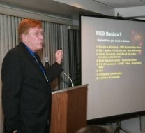 Commercial REO Brokers Association -  Dinner Meeting, Newport Beach, CA April 28,2009.  Is the Commercial Real Estate Market About to Collapse?