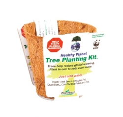 New Way for Kids & Families to Help Planet - Plant Trees in Coconut Husks