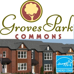 Certified Green Home Designation Awarded to Groves Park Commons Townhomes