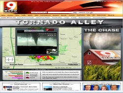 iMap from Weather Decision Technologies Relays World's First Live Broadcast of Geo-referenced Tornadoes Using Google Maps