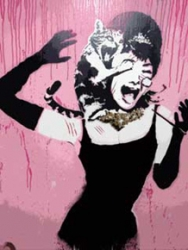 Banksy Canvas Prints from Four Blank Walls
