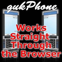 gukPhone, a Web Based Phone that Works Straight Through the Browser