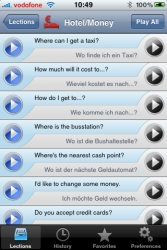 """""""iSayHello"""" – with the Travel Dictionary for iPhone and iPod Touch to the IFA 2009 in Berlin"""