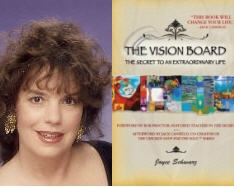 How to do a Back-to-School Vision Board by Best-Selling Author Joyce Schwarz, Booksigning & Workshop in Venice, Ca 8/27/09