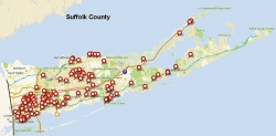 Long Island Foreclosures Down 34% from June 2009 But Up 3% from July 2008 Says PropertyShark.com