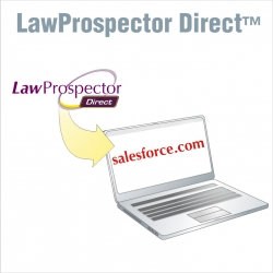 LawProspector Now Delivers Its Highly Sought After Litigation Intelligence Data Directly to Salesforce.com Accounts