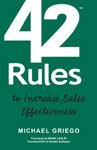 What to do When You're Not Hitting Your Quota? Read '42 Rules to Increase Sales Effectiveness' by Michael Griego