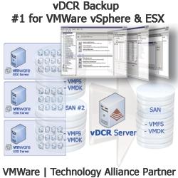 vDCR Backup for VMWare vSphere and ESX 3.x Official Release