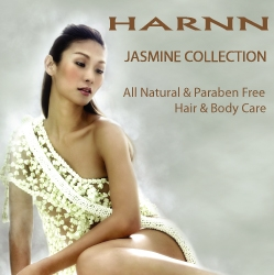 HARNN & THANN New Jasmine Collection - Natural Hair & Body Care