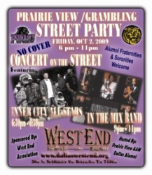 Prairie View A&M /Grambling State Street Party in the West End