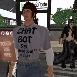 Artificial Intelligence Lives Among and Interacts with Real People in Online Virtual World