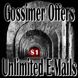 Gossimer Offers Unlimited E-mails for $1