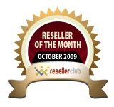 Gossimer Became Reseller of the Month for October
