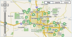 Arizona Property Management Company GoRenter.com Offers an Interactive Map That Makes Searching for a Rental Home Easy