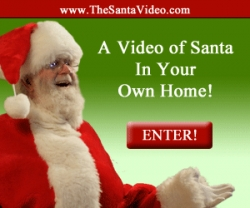 Video of Santa in Your Own Home. Instantly Prove That Santa Claus is Real.