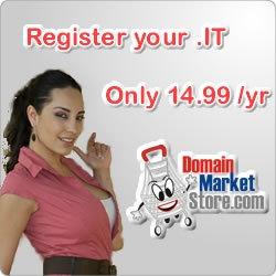 Domain Market Store Adds .IT to Domain Registration List