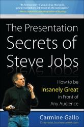 Public Speaking the Steve Jobs Way: Carmine Gallo's New Book