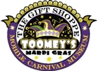 Toomeys Mardi Gras Gears Up for Business Season Yet with Beads and Masks Galore