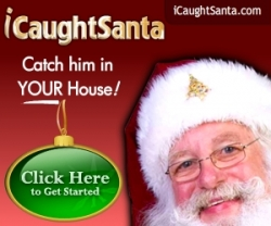 iCaughtSanta.com Announces New Service to Help Parents Catch Santa 'on Camera' and 'Video' in Their Very Own Homes