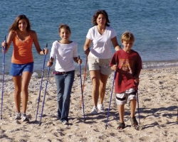 The American Nordic Walking System Leads Nordic Walking Charge