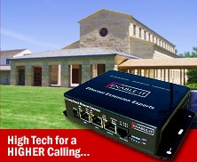High Tech for a High Calling: Ethernet Extension Goes to Church