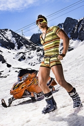 Gay Ski Week on the Top of the World with Uplifting Beats and a Great Atmosphere Watching the Sunset Into the Valley of Dreams