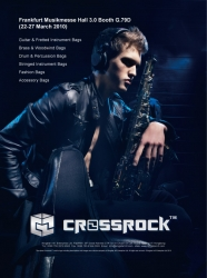 Crossrock™ Gig Bags & Cases Launch 2010 Collection at Frankfurt Musikmesse 24-27th March 2010