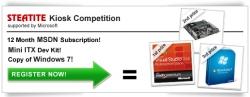Steatite Embedded World Kiosk Competition