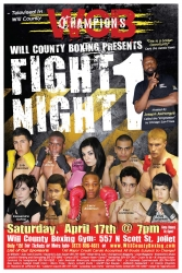 Joseph Awinongya Presents Will County Boxing Show Fight Night I