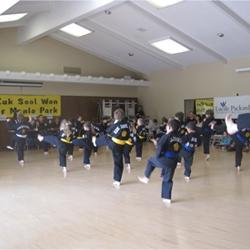 Kuk Sool Won of Menlo Park, California - Martial Artists Raise Over $7000 for Lucille Packard Children's Hospital