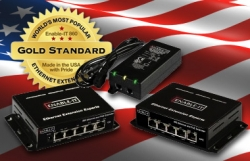 Ethernet Extension Experts Goes 'Big Show' at the Big Show: Gear at Eight Booths Inside of Security Industry's ISC West