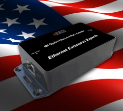 Ethernet Extension Experts Announces Advent of World's First Copper-Based Gigabit PoE+ Ethernet Extender at ISC West