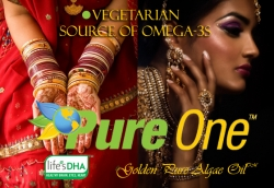 Pure One™ DHA Maker Brings a Heart to Algae Oil, Calls on India's Distributors to Learn More About New Vegetarian Source of Omega-3s
