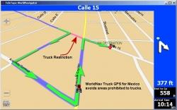 WorldNav Truck GPS Now Offers Mexico Maps