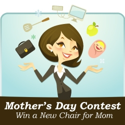 BizChair.com Celebrates Mother's Day with a Mother's Day Contest