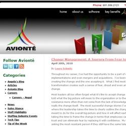 Avionté Announces Launch of New Staffing Industry Blog