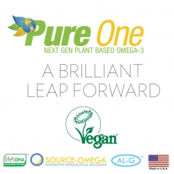 Pure One™ Omega-3 Registered with the Vegan Society