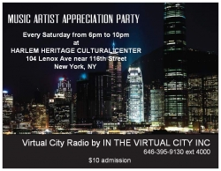 Virtual City News and Virtual City Radio Will be Hosting a New Open Mic and Artist Showcase