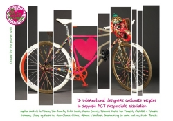 12 Famous Designers Creates Bikes for the Planet with One Heart Channel