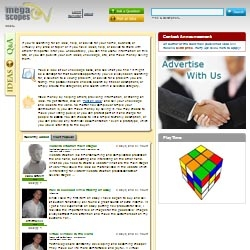 MegaScopes.com - The Portal for Ideas' Exchange