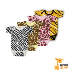 13c704251 Animal Printed Baby & Toddler Clothing - Zebra, Tiger, Giraffe and Leopard  Onesies, Dresses, T Shirts & Hats