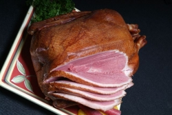 Thanksgiving and Christmas Dinner Will Impress This Year with a Hickory Chip Smoked Whole Goose Available Only from Schiltz Foods